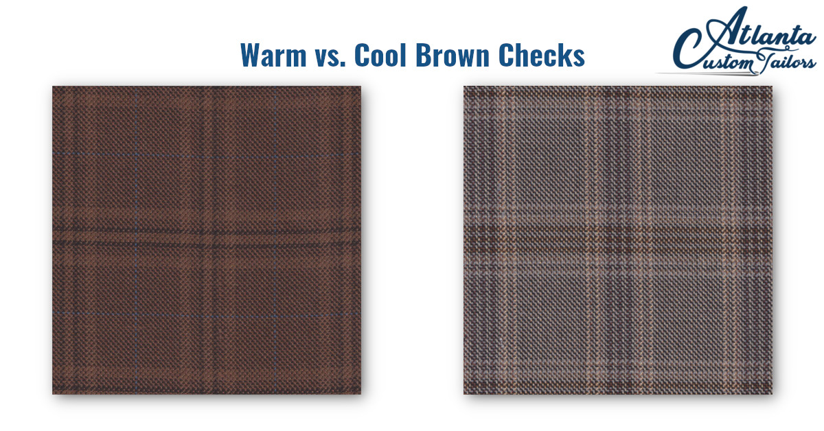Brown Checks Complete Any Fall Outfit