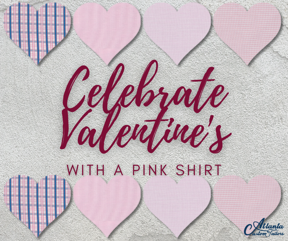 Celebrate Valentine's with a pink shirt